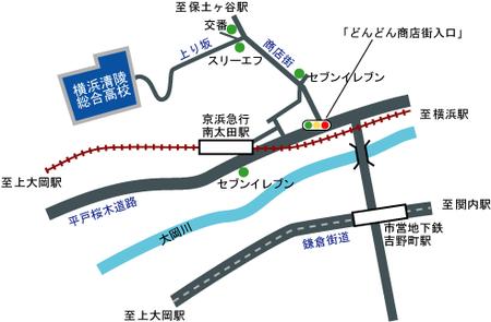 横浜清陵総合高校周辺地図