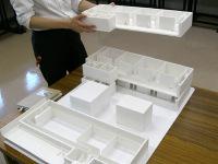 7号館3階までの模型