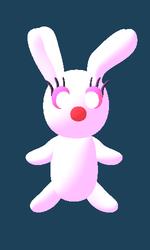 完成したウサギ