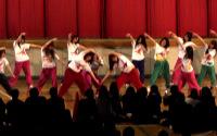 ダンス部の演技