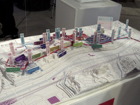 地形の模型
