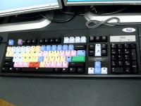 ノンリニア編集機のキーボード