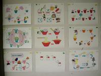 生徒作品の掲示物