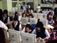 PC教室の混雑ぶり