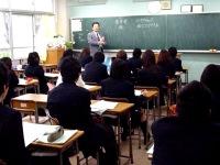 本校S教諭によるライトセンターの講話