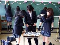 教室内での撮影
