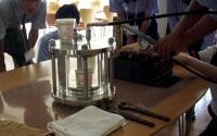 高圧実験のデモ