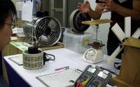 揚力と風力のエネルギー変換実験