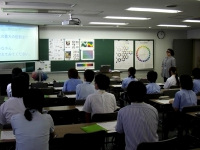 横浜デジタルアーツ専門学校での講義