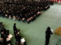 卒業証書授与の呼名