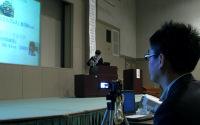 新採用教員によるカメラ操作