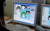 オリジナルキャラクターの描画