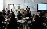 福祉実習室の発表