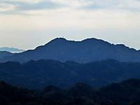 富山を望む