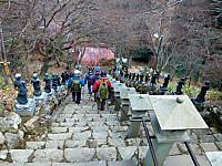 女坂の大山寺