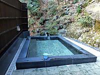 きれいな露天風呂