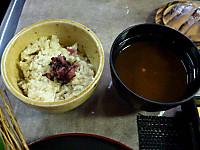 ムカゴの炊き込みご飯