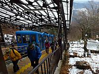 ケーブルカー御岳山駅