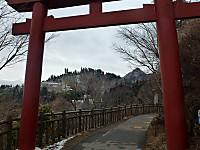 参道から御岳山