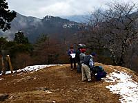 日ノ出山山頂