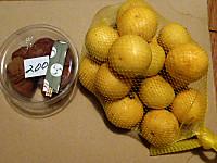 梅干しとゴールデンレモン
