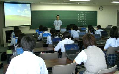横浜デジタルアーツ専門学校での実習