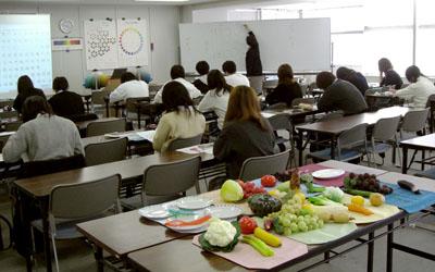 吉岡先生の授業風景
