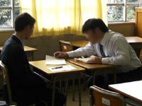 教員からの指導