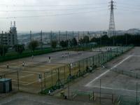 テニス部とハンドボール部