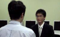 2年次生が卒業生にインタビュー