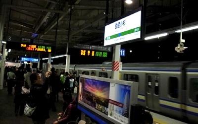 横須賀線湘南新宿ライン武蔵小杉駅ホーム