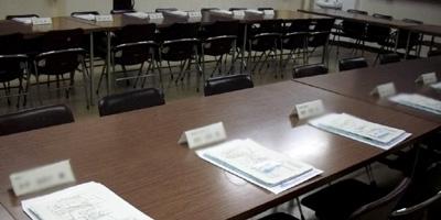 講師控え室の準備