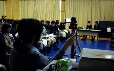サブスクリーン用のカメラ操作