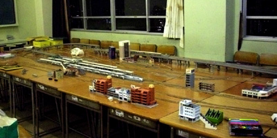 鉄道模型全景